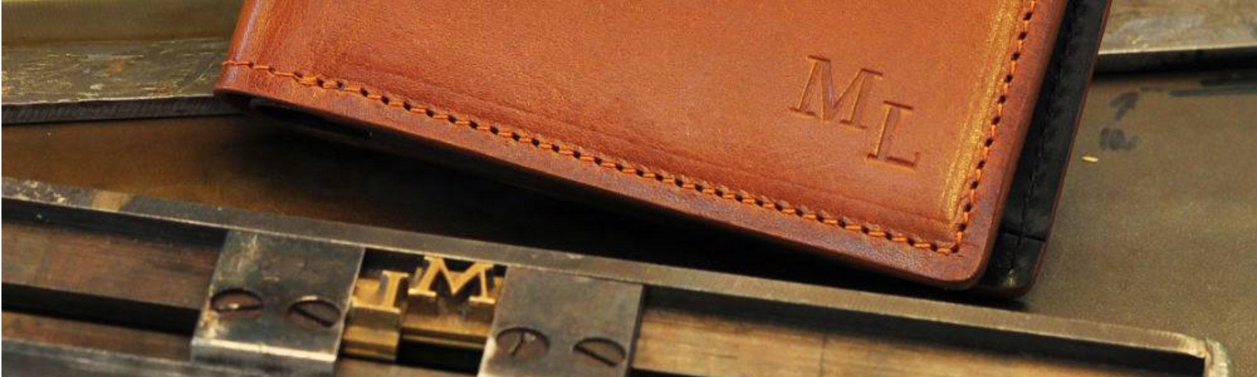 18ccb9df7 Kožené peněženky na zakázku a s monogramem | Brašnářství Tlustý a ...