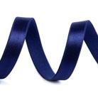 Saténová pruženka - modrá pařížská