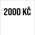 Příspěvek 2000Kč
