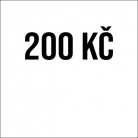 200 Kč