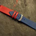 Kozeny Reminek Pure pro Apple Watch Modry Horni Pohled