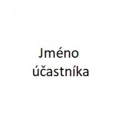 Jméno účastníka/účastníků