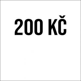 Příspěvek 200Kč