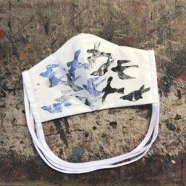 Ptáci modro-černí