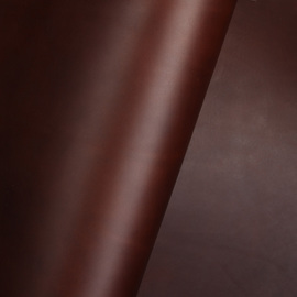 Glattes Leder - braun