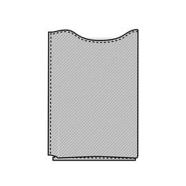 Pocket 11cmx7cmx1cm