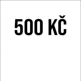 Příspěvek 500Kč