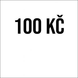 Příspěvek 100 Kč