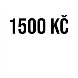 1 500 Kč