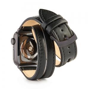 apple watch double - plain - cut - back - Scene 1 - BLACK - brushed.jpg