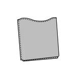 Pocket 10cmx10.5cmx1.5cm